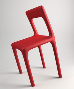 A slanted chair that you can't sit in, designed by Katerina Kamprani - http://www.kkstudio.gr